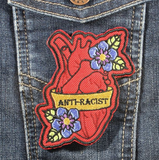 Anti-Racist Heart Patch