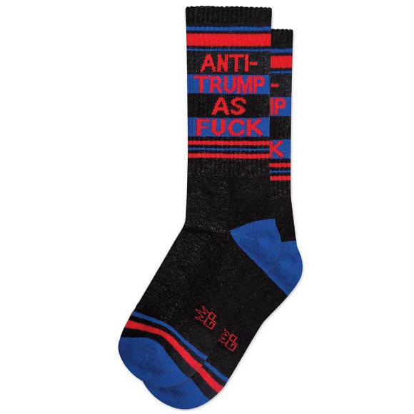 Anti-Trump As Fu*k Ribbed Gym Socks