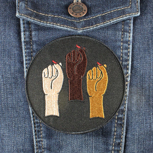 Babes in Solidarity Patch