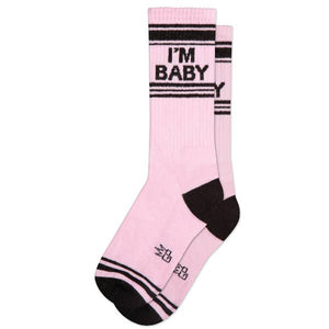 I'm Baby Ribbed Gym Socks