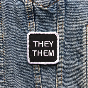 They/Them Patch