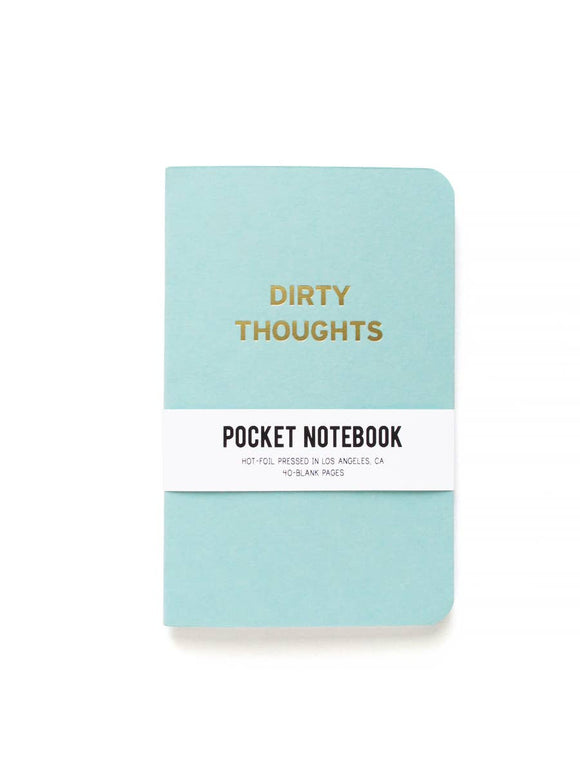 'Dirty Thoughts' Pocket Notebook