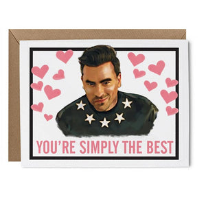 'Simply the Best' Card