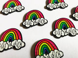 Eat a Dick Rainbow Pin