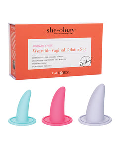 Advanced Wearable Vaginal Dilator Set by She-ology