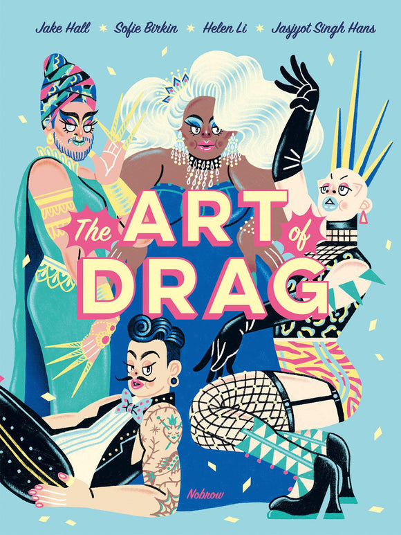 'The Art of Drag' Hardcover Illustrated Book