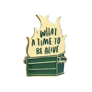 What A Time To Be Alive Pin