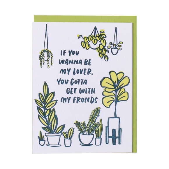 'Frondship' Card