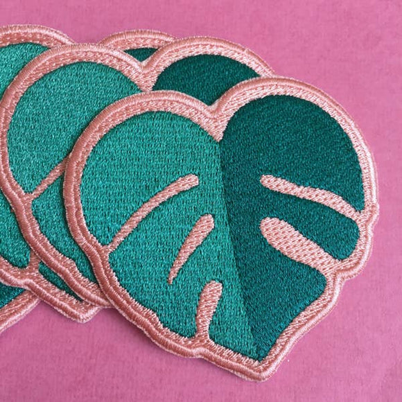 Monstera Heart Patch