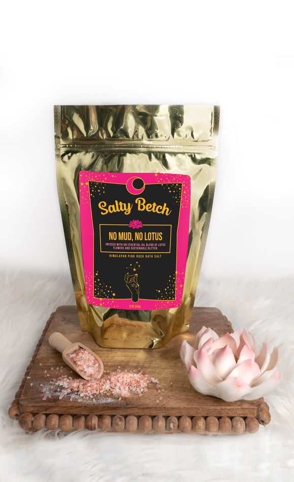 No Mud, No Lotus Bath Soak