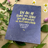 'Met Each Other Miracle' Card