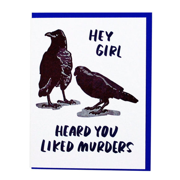 'Crow Murder' Card