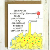 'Nachos Love' Card