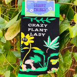 Crazy Plant Lady Crew Socks