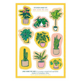 Planttern Sticker Sheet