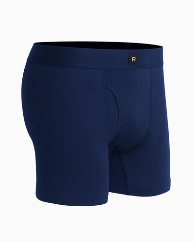 Traditional-Style Smith Soft Cotton Boxer Brief by Richer Poorer