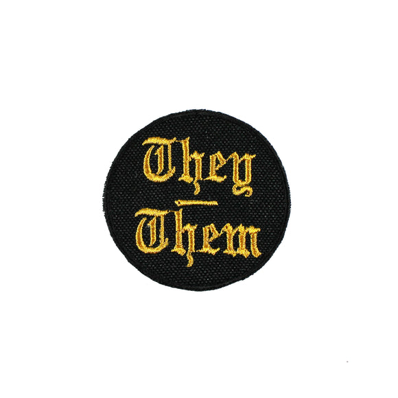 They/Them Mini Patch