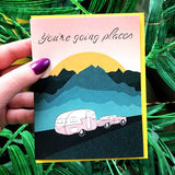 'You're Going Places' Card