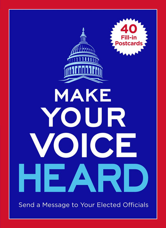 Make Your Voice Heard - Postcard Book