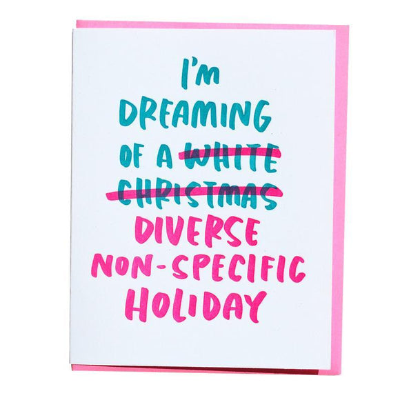 'White Christmas' Card