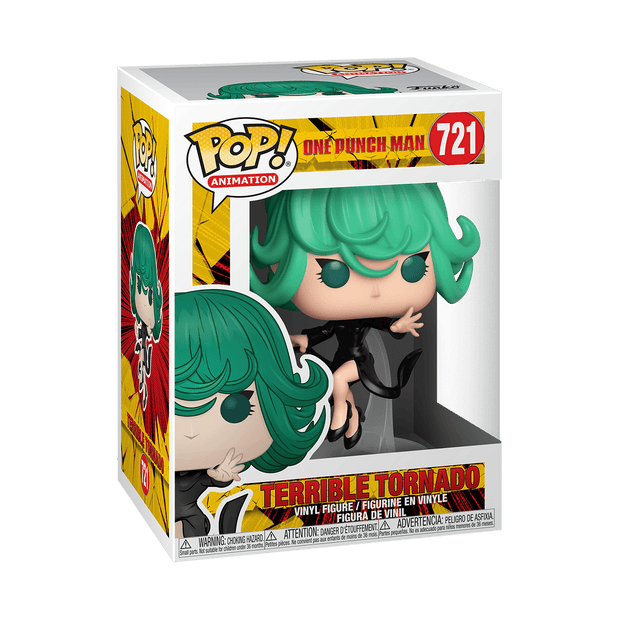 Funko Pop! Animation: One Punch Man - Tornado