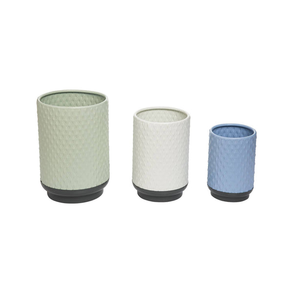 Salton Vases - 3 Different Colors and Sizes