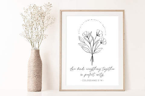 Colossians 3:14 Printable Art