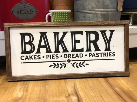 Bakery Wood Sign