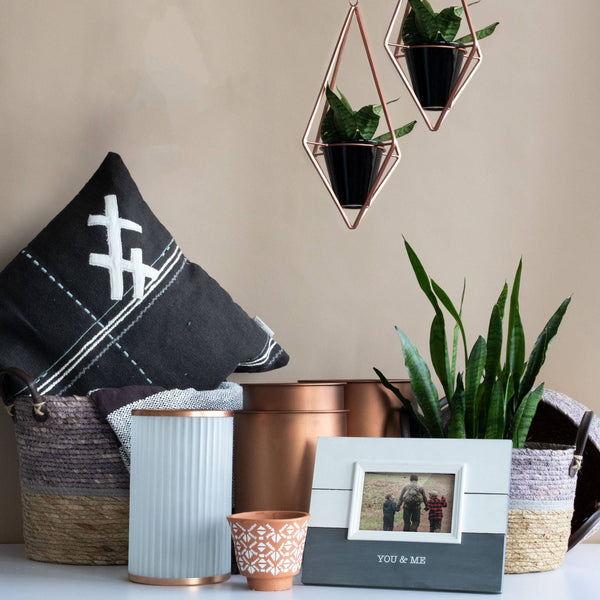 Diamond Geo Hanging Planter