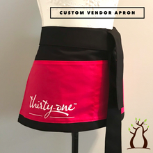 Load image into Gallery viewer, Custom Branded Vendor Apron