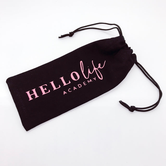 Custom Branded Drawstring Pouch