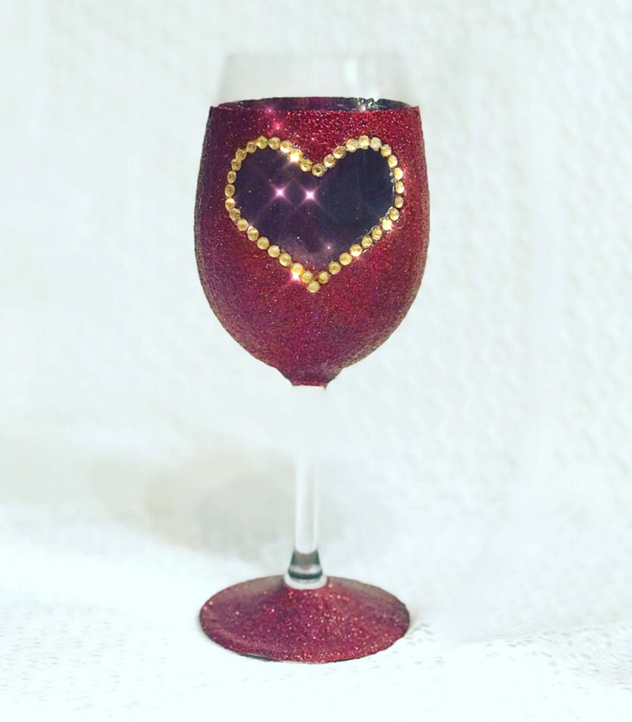 Glitter Glass - Love