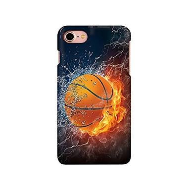 iPhone Cover - Fire & Ice Basketball
