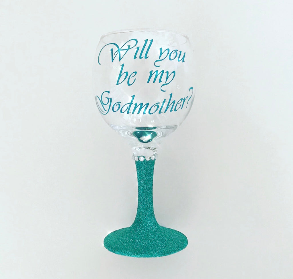 Glitter Glass - Custom Message