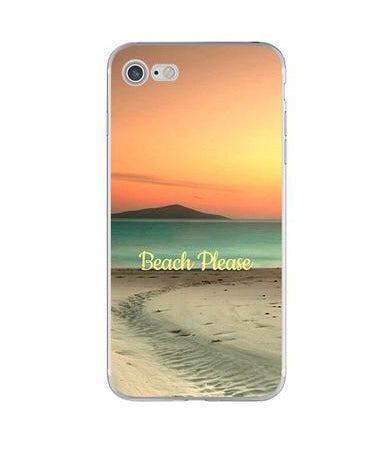 iPhone Cover - Beach Please