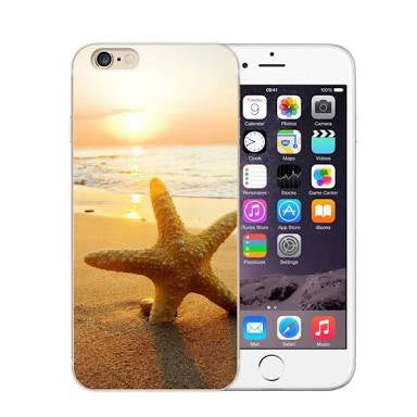iPhone Cover - Sunset Starfish