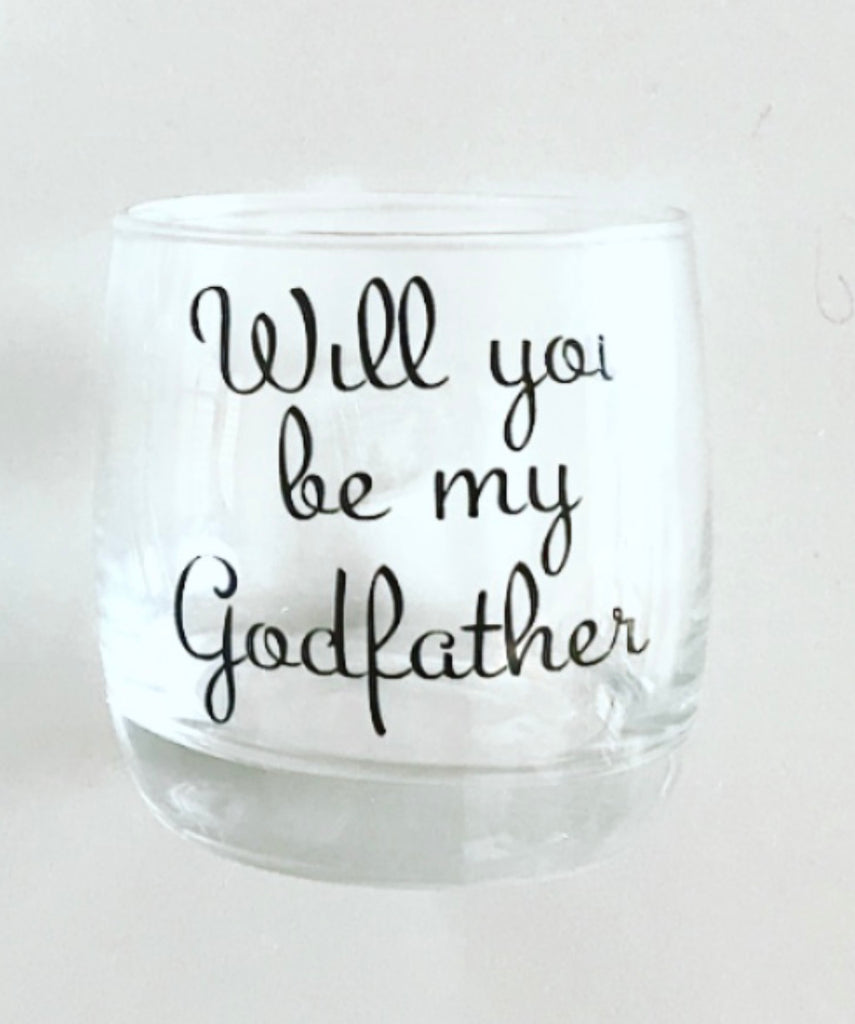 Scotch Glass - Custom Message