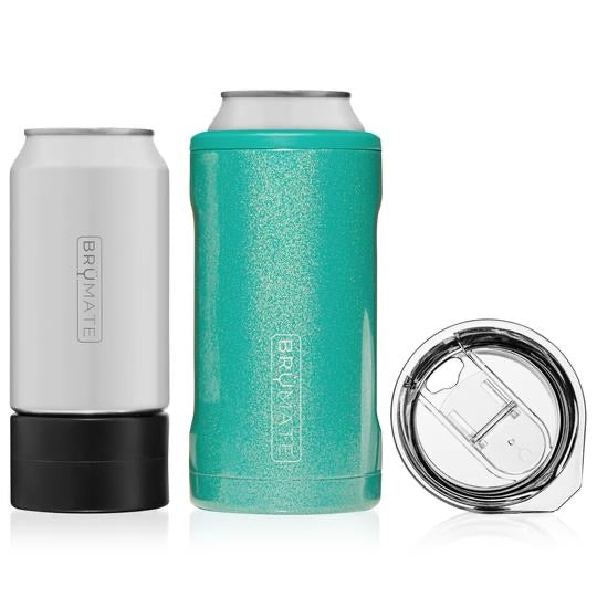HOPSULATOR TRÍO 3-IN-1 | GLITTER PEACOCK (16OZ/12OZ CANS)