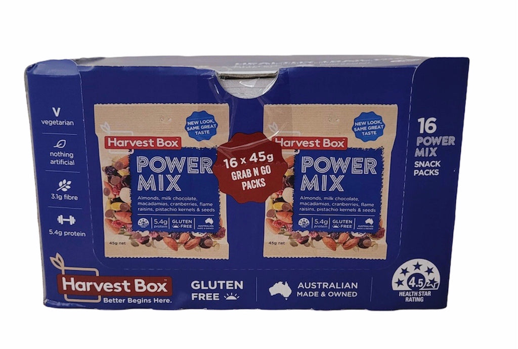 HARVEST BOX POWER MIX 16x45g