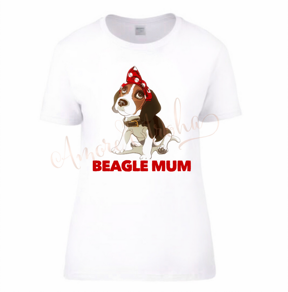 Beagle Mum Top