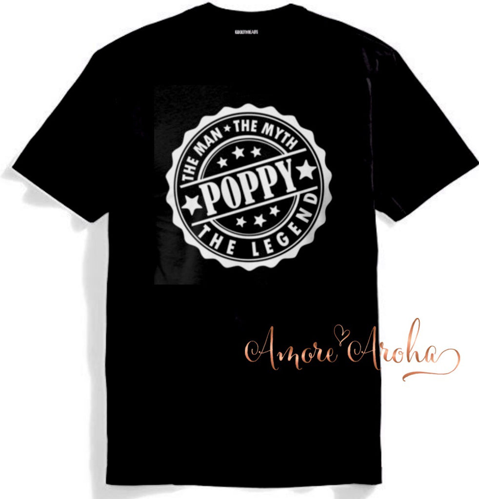 Poppy Legend Stamp Tshirt
