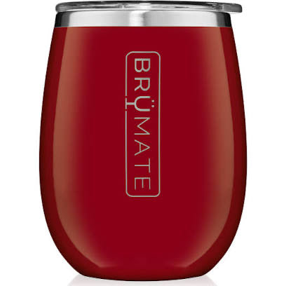 UNCORK'D XL 14OZ WINE TUMBLER | CHERRY