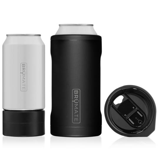 HOPSULATOR TRÍO 3-IN-1 | MATTE BLACK (16OZ/12OZ CANS)