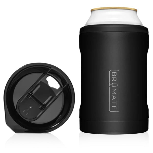 HOPSULATOR DUO 2-IN-1 | MATTE BLACK (12OZ CANS/TUMBLER)