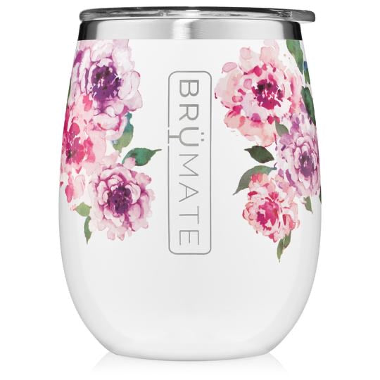 UNCORK'D XL 14OZ WINE TUMBLER | PEONY (LIMITED EDITION)