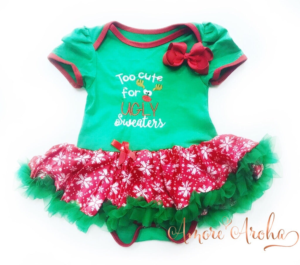Too Cute Tutu Romper