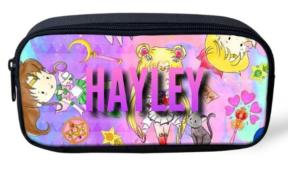 Personalised Pencil Case - Sailor Moon