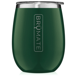 UNCORK'D XL 14oz Wine Tumbler | Emerald Green