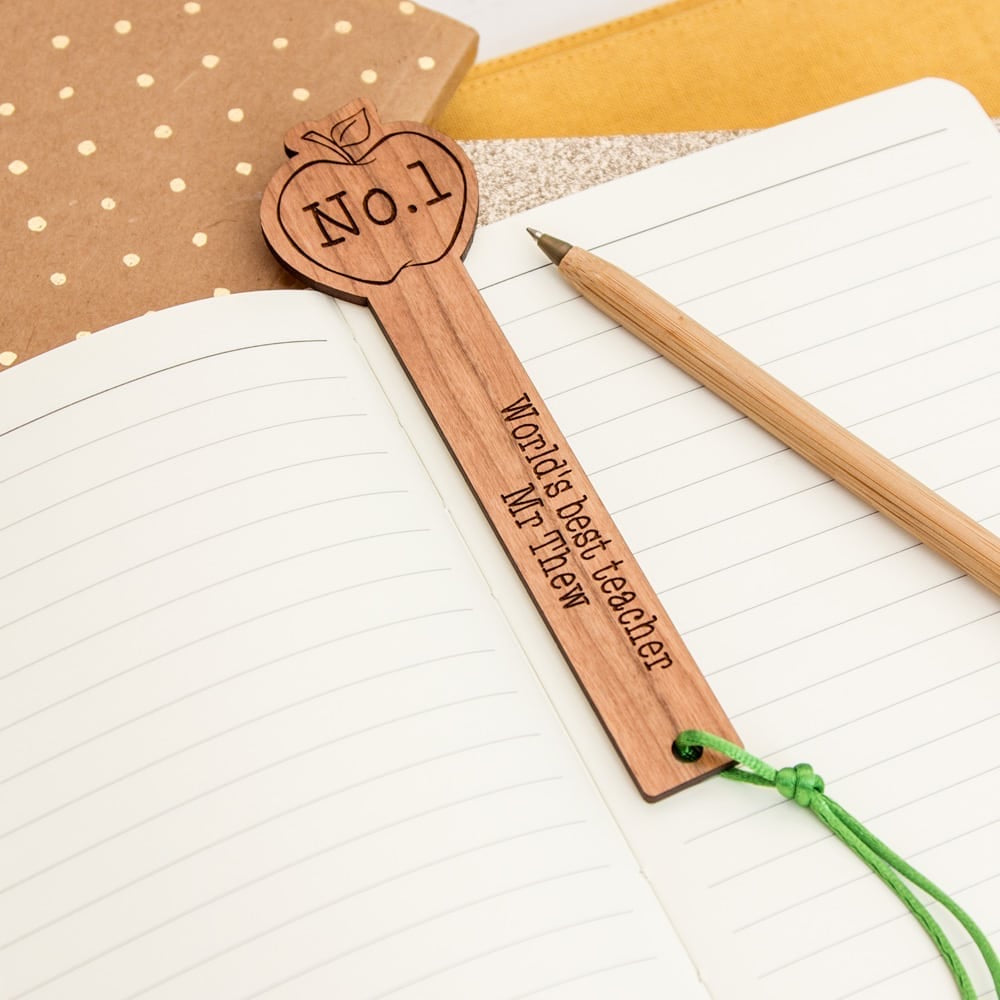 Personalised Teacher Book Mark