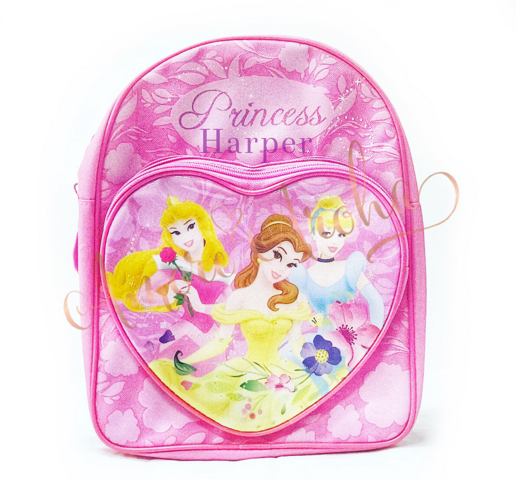 Personalised Disney Princess Backpack